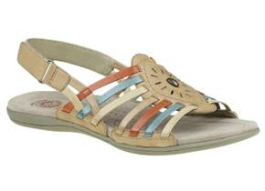 Earth Spirit Sandals - Corona Tan Multi