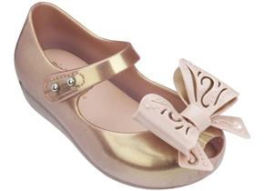 Melissa Shoes - Mini Ultra Girl Fairy Bow Rose Gold
