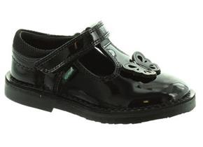 Kickers Shoes - Adlar T Black Patent
