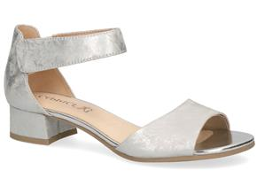 Caprice Sandals - 28212-24 Light Grey Foil