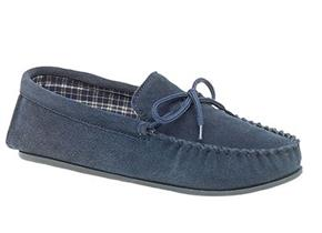 Pettits Slippers - MS245 Navy
