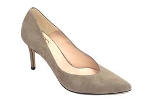 HB Shoes - Julietta GMK18-27 Taupe Suede