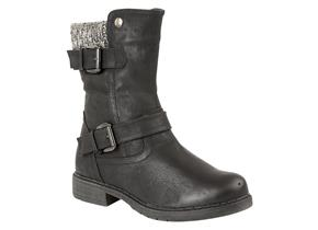 Lotus Boots - Farrin Black