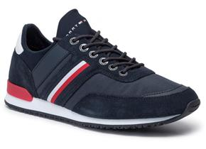 Tommy Hilfiger Shoes - Iconic Sock Runner Navy