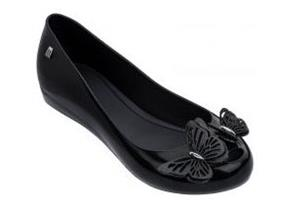Melissa Shoes - Ultragirl Butterfly Black