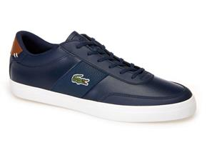 Lacoste Trainers - Court Master 318 Navy