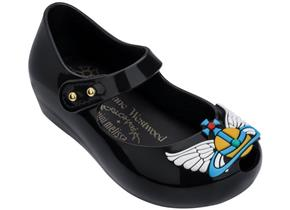 Vivienne Westwood + Melissa Shoes - Mini VW Ultragirl 22 Black Wing Orb