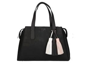 Guess Bags - Trudy Girlfriend Satchel Black