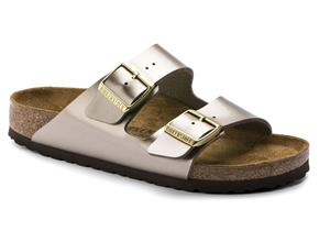 Birkenstock Sandals - Arizona Electric Taupe