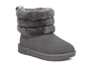 Ugg Boots - Fluff Mini Quilted 1103612 Charcoal