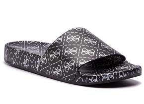 Guess Sandals - FL6SAV-RUB19 Black Silver