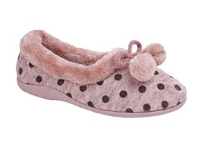 Sleepers Slippers -  Marge LS965 Pink