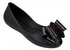 Zaxy Shoes - Link Twin Bow Black