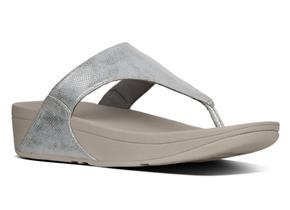 FITFLOP™ SANDALS - Lulu™ Shimmer Silver