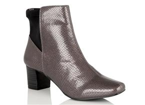 Lotus Boots - Swallow Grey Patent