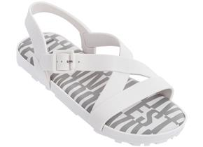 Vivienne Westwood + Melissa Sandals - VW Hermanos White