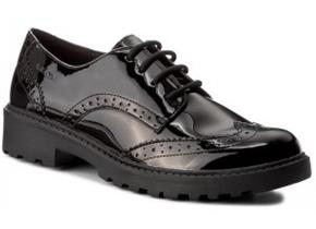 Geox Shoes - Casey J6420N Black Patent