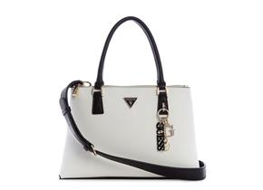 Guess Bags - Becca Status Satchel White Multi