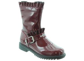 Lelli Kelly Winter Boots - Norma LK3640 Burgundy Patent