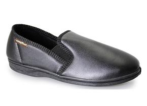 Goodyear Slippers - Trent Black