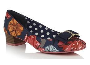 Ruby Shoo - June Navy Floral