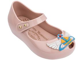 Vivienne Westwood + Melissa Shoes - Mini VW Ultragirl 22 Blush Wing Orb