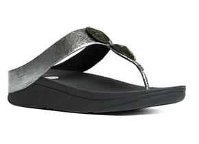 FitFlop™ Sandals - Pierra™ Pewter