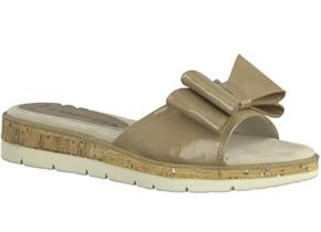 Marco Tozzi Sandals - 27120-20 Taupe Patent