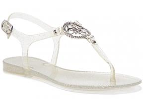 Guess Sandals - FL6JAC-RUB21 Silver