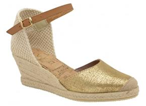 Ravel Shoes - Etna Metallic Gold