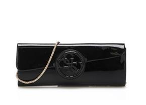 Guess Bags - Amy Clutch Black Patent