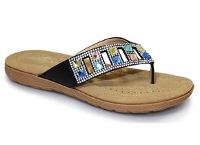 Lunar Sandals - Abigail JLH705 Black