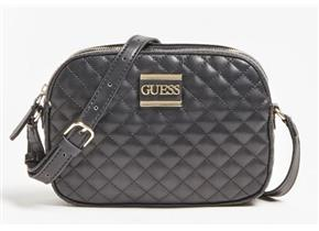 Guess Bags - Kamryn Crossbody Black Quilt