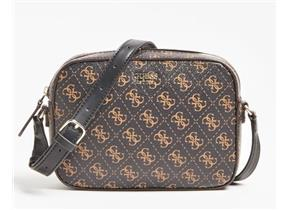 Guess Bags - Kamryn Crossbody Brown Logo