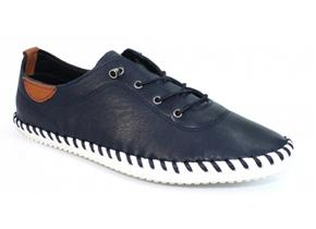 Lunar Shoes - St Ives FLE030 Navy