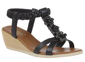 Lotus Sandals - Aiana ULP113 Black