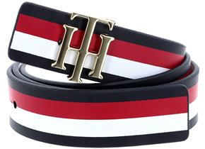 Tommy Hilfiger Accessories - TH Reversible 3.0 Belt Navy