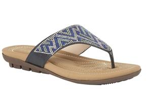 Lotus Sandals - Patti Blue