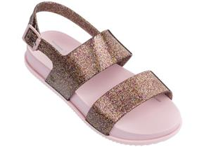 Melissa Sandals - Kids Cosmic Sandal Rose Glitter