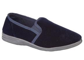 Sleepers Slippers - MS483 Ross Navy