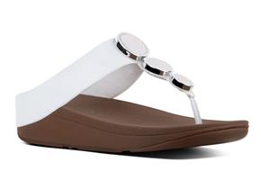 FitFlop™ Sandals - Halo™ Urban White