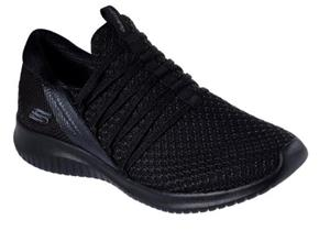 Skechers Shoes - Ultra Flex Bright Future 12849 Black