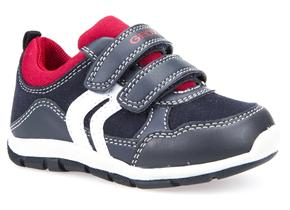 Geox Shoes - Shaax B7432A Navy Red