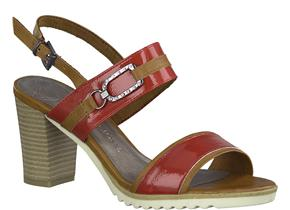 Marco Tozzi Sandals - 28704-24 Red Multi