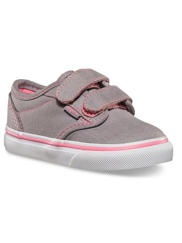 51d1af29a6 Vans Shoes - Atwood Infant Velcro Grey Pink